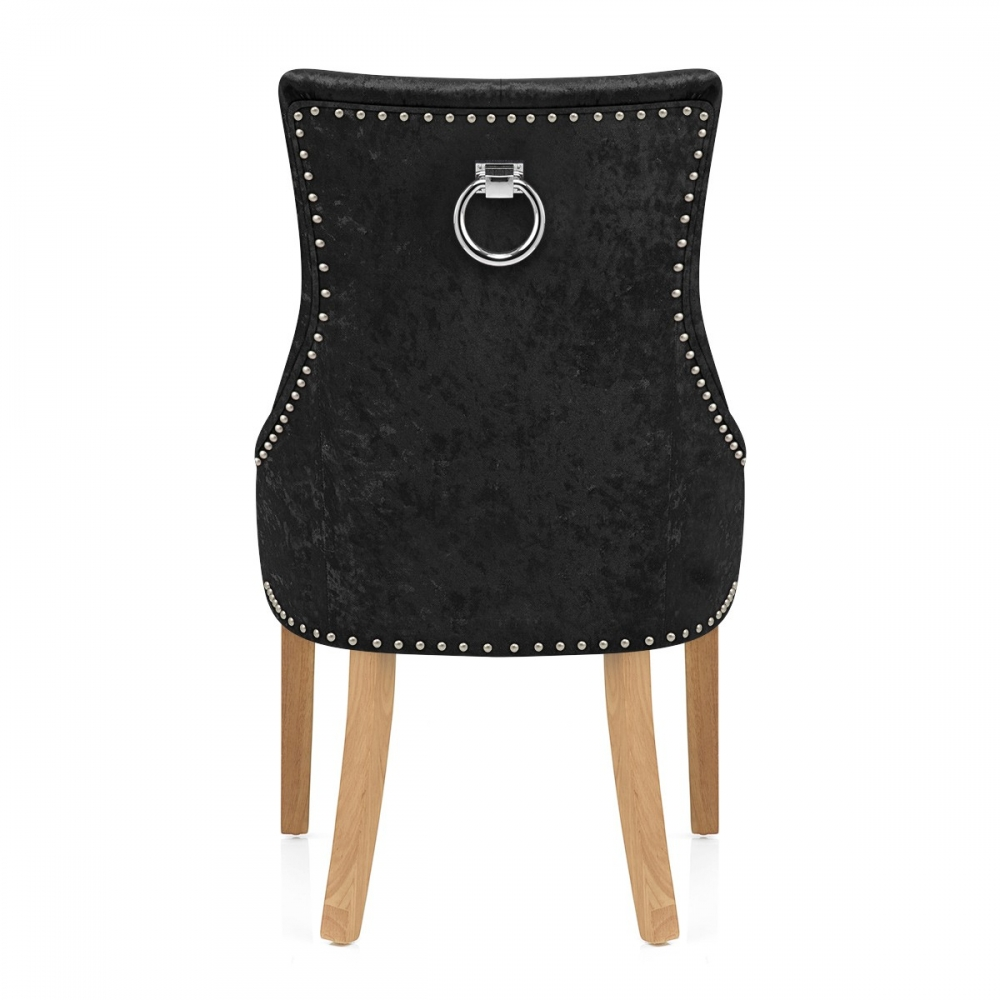 eiche samtbarhocker ascot barhockerwelt. Black Bedroom Furniture Sets. Home Design Ideas