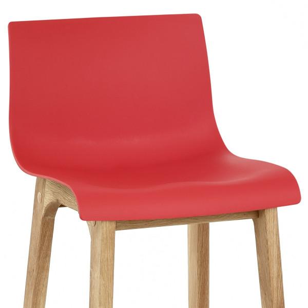 Barhocker Eiche - Drift Rot
