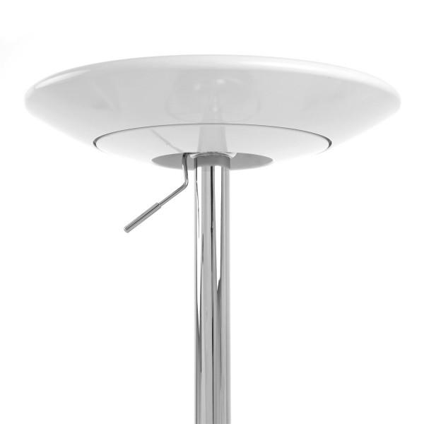 Kunststoff Chrom Tisch - Podium Schwarz