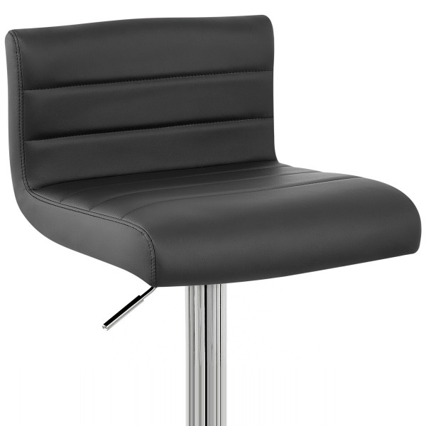 barhocker style kunstleder chrom barhockerwelt. Black Bedroom Furniture Sets. Home Design Ideas