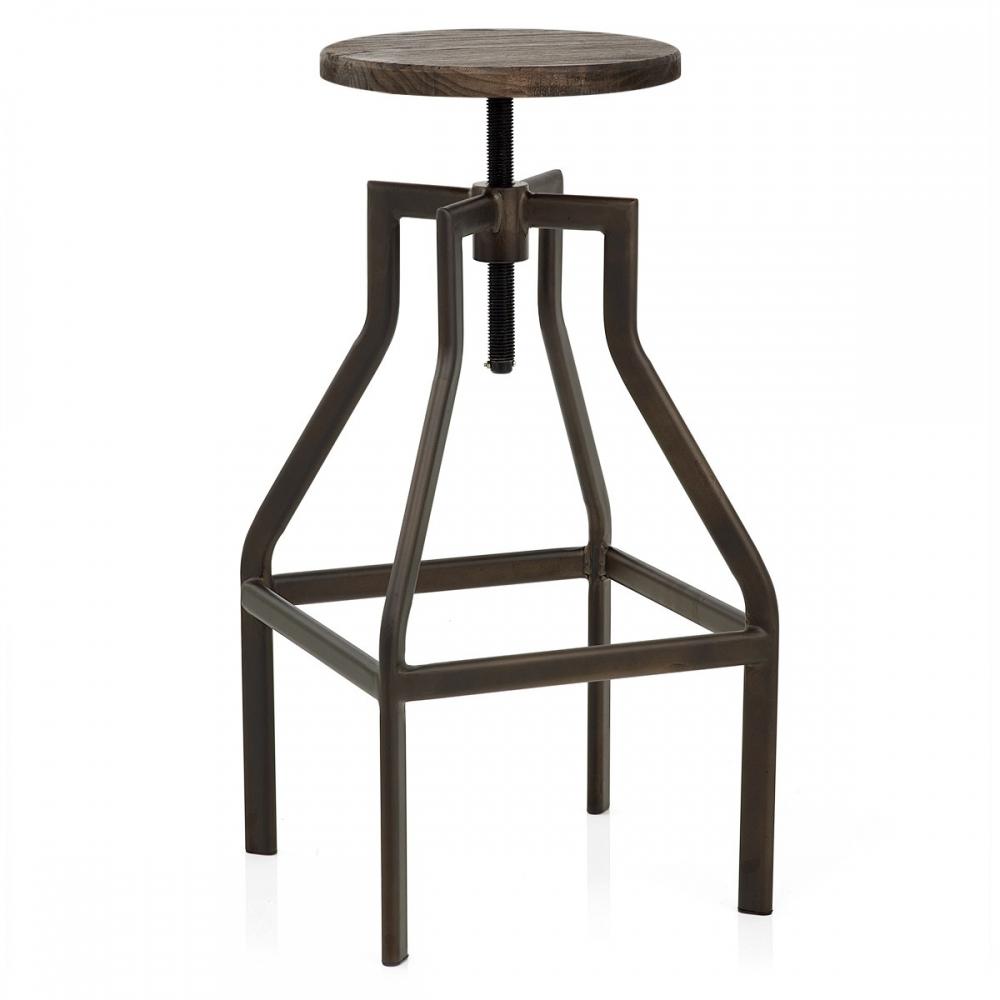 barhocker vintage retro dunkel barhockerwelt. Black Bedroom Furniture Sets. Home Design Ideas