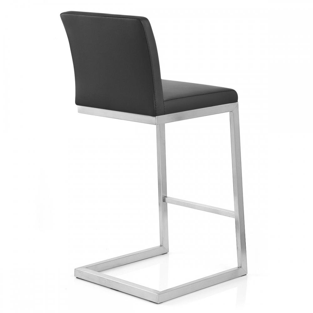 barhocker echtleder grau stroyreestr. Black Bedroom Furniture Sets. Home Design Ideas