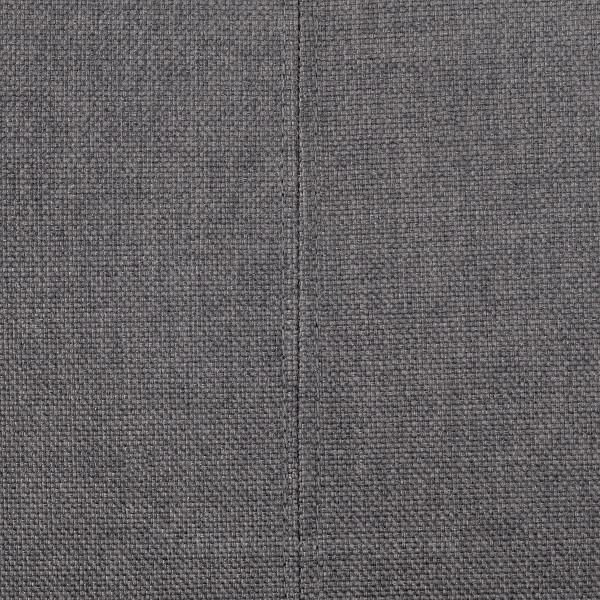 Stoffbarhocker Eiche - Cornell Grau