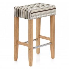Holz Barhocker - Otis Gestreift