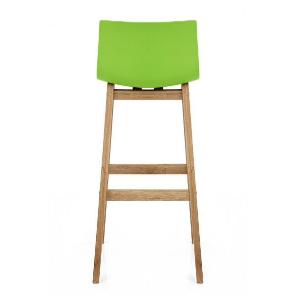 Barhocker Eiche - Drift Grün