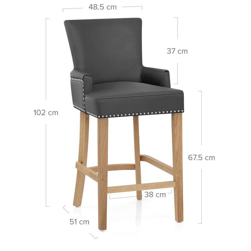 holz barhocker nico barhockerwelt. Black Bedroom Furniture Sets. Home Design Ideas