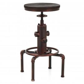 Barhocker Kupfer Antik - Hydrant
