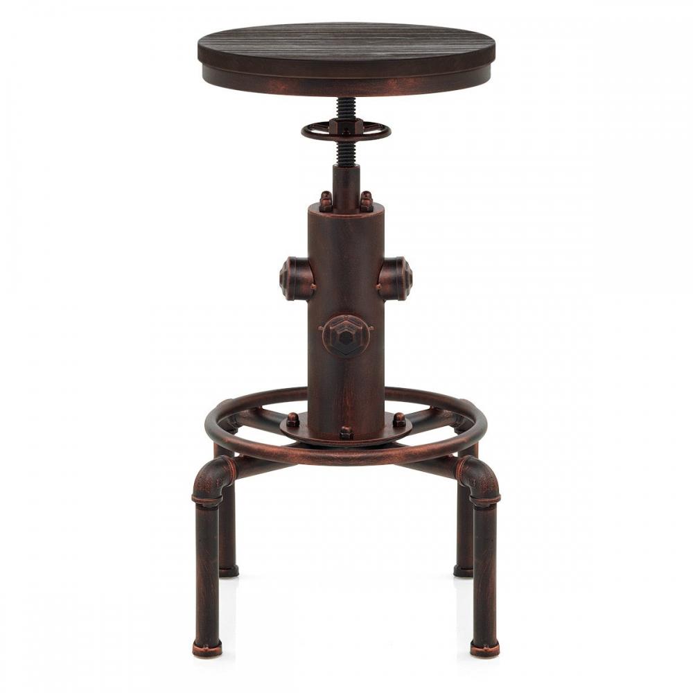 barhocker kupfer antik hydrant barhockerwelt. Black Bedroom Furniture Sets. Home Design Ideas