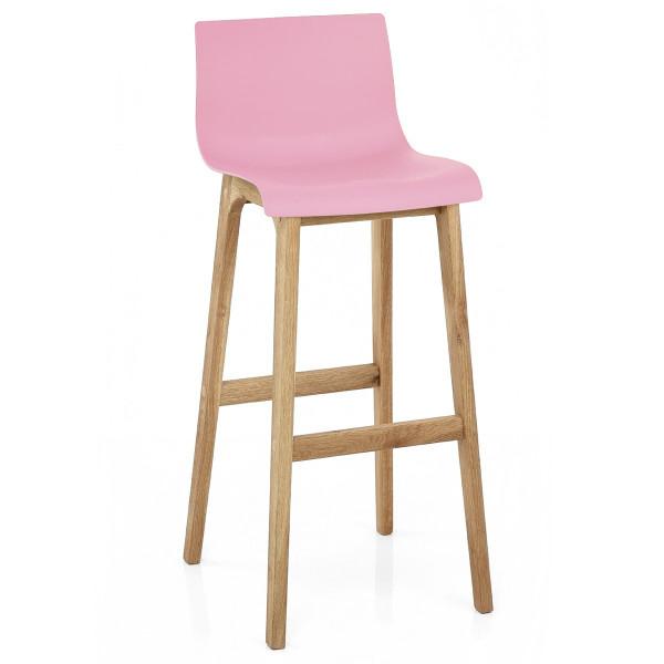 Barhocker Eiche - Drift Pink