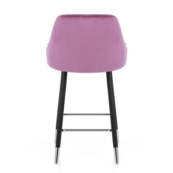 Samtbarhocker - Glam Pink
