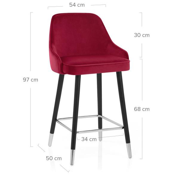 Samtbarhocker - Glam Rot