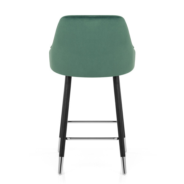 Samtbarhocker - Glam Grün